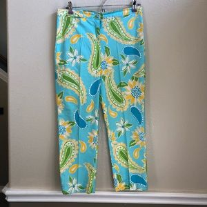 Vintage Lilly Pulitzer cropped pant size 6